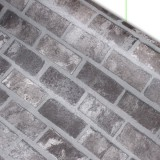 고급인테리어필름지- ( IPW556 ) 고벽돌.파벽돌 / 122cm장폭, 우수한 내구성, 방수, 비침NO, 기포NO, 다용도인테리어리폼