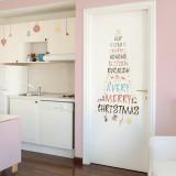 크리스마스스티커 별난 크리스마스트리 (PSC-60070)
